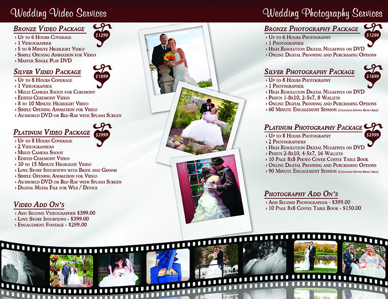 """8.5""""x11"""" Back Trifold Template"""