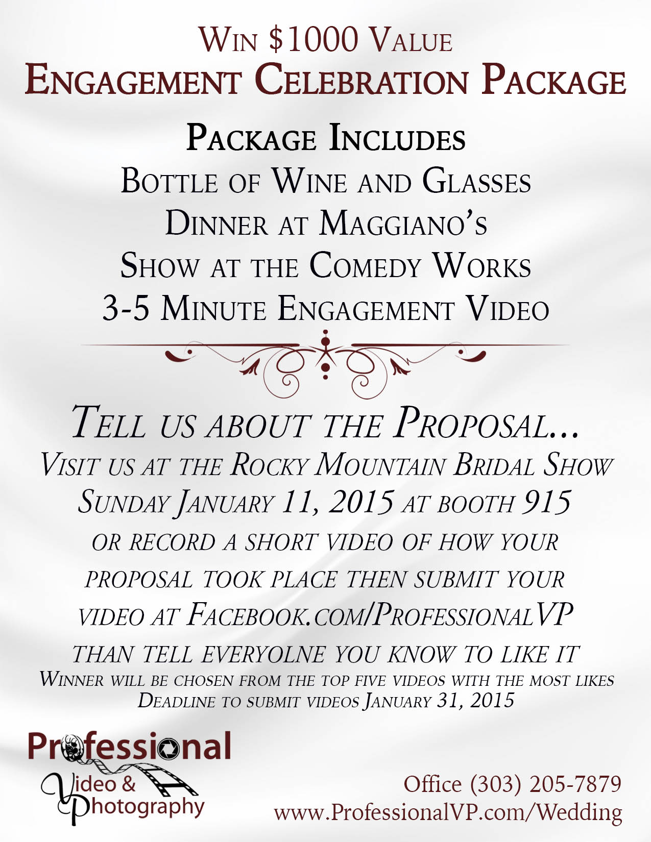 Engagement Celebration Package Single